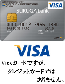 SURUGA Visaデビットカードを徹底解析!Visaデビットカード