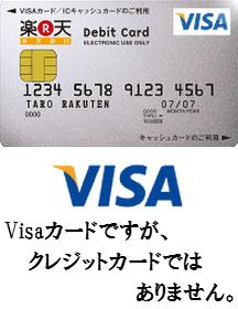 楽天銀行デビットカードを徹底解析!Visaデビットカード