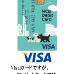 西日本シティ銀行が発行するNCBデビット-Visaのメリット・デメリットを徹底解析!JCBとの2大ブランドに対応