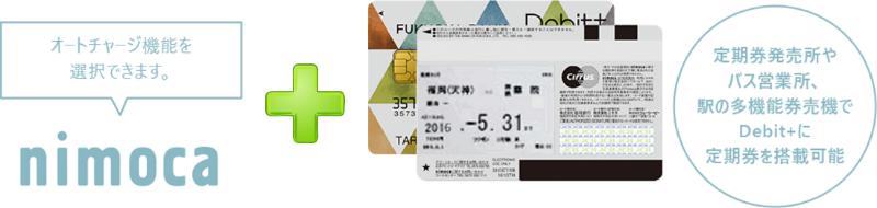 国内初!「nimoca」搭載カードで交通機関の移動がスムーズに!