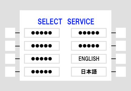 使用言語を選択する