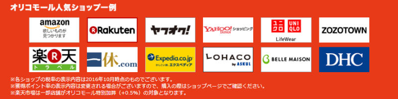 「Amazon.co.jp」「楽天市場」「Yahoo!ショッピング」も参加