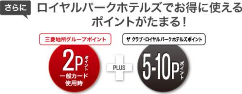 三菱地所グループCARD ザ クラブ・ロイヤルパークホテルズ